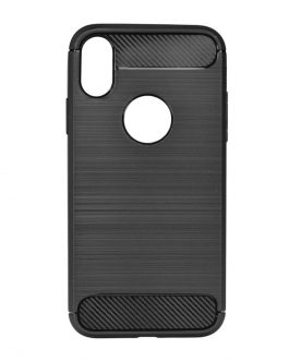 TPU TORBICA CARBON ZA IPHONE XS MAX BLACK