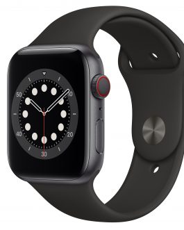 APPLE WATCH SERIES 6 GPS 44mm BLACK